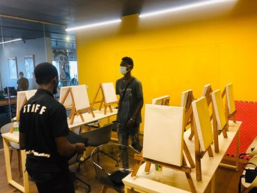 sip & paint services - Crafts Village Academy at Anakle