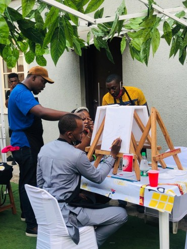 sip and paint party - Crafts Village Academy