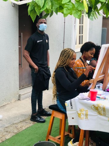 sip and paints - Crafts Village Academy